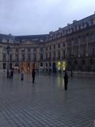 Veilleurs Debout sous la pluie, place Vendôme