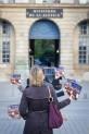Le livre des Veilleurs place Vendôme