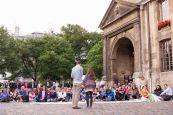 Veillée devant St Germain des Prés, 11 juin 2014